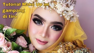 Tutorial Makeup Simple untuk wedding by Rindy nella krisna