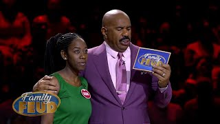 Everyone holds their breath! They can win the R75 000 in FAST MONEY! | Family Feud South Africa