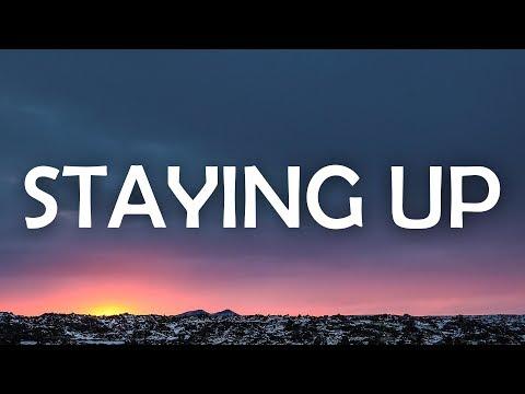 Matoma & The Vamps - Staying Up (Lyrics / Lyric Video)