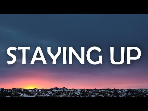 Matoma & The Vamps - Staying Up (Lyrics / Lyric Video)