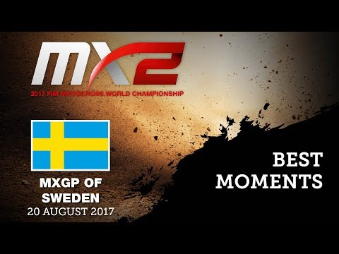 MX2 Best Moments - MXGP of Sweden 2017 - motocross