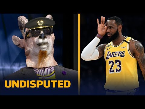 Shannon Sharpe celebrates LeBron James' 'virtuoso performance' in rout of Spurs | NBA | UNDISPUTED