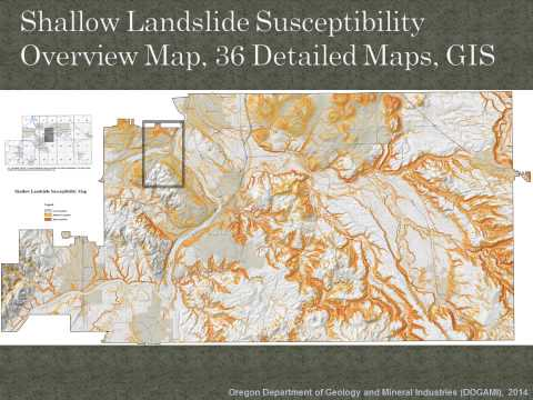 Project Overview: Landslide Susceptibility Mapping and Risk Analysis for Clackamas County, Oregon