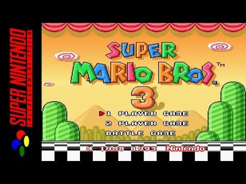 [LONGPLAY] SNES - Super Mario All-Stars - Super Mario Bros 3 (HD)
