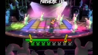 Rayman Raving Rabbids / Los conejos bailan música disco