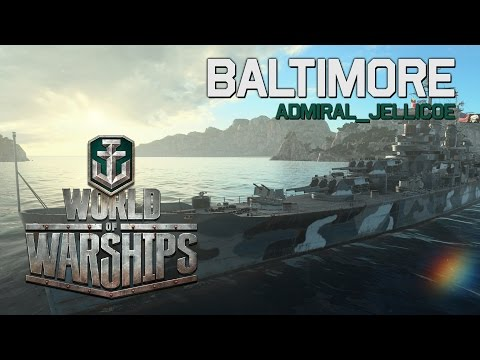 World of Warships - Baltimore by Admiral_Jellicoe