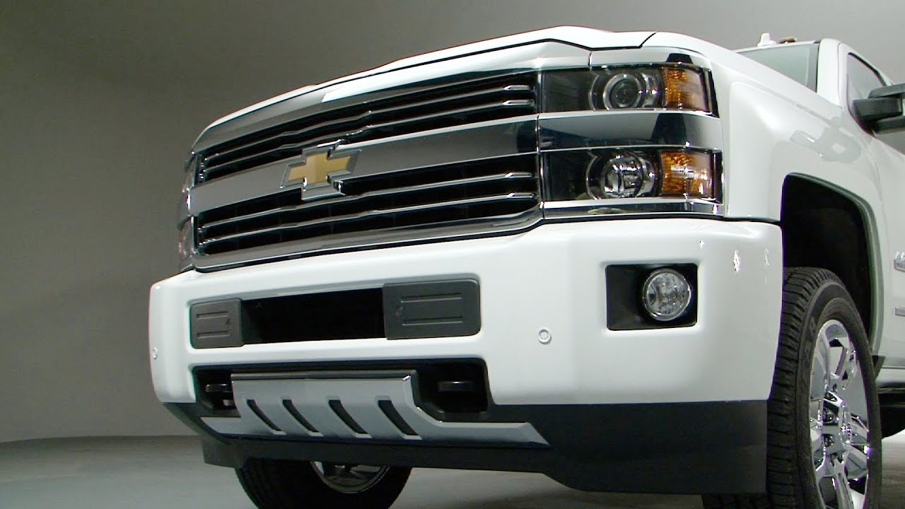 NEW 2015 Chevrolet Silverado High Country OVERVIEW - YouTube
