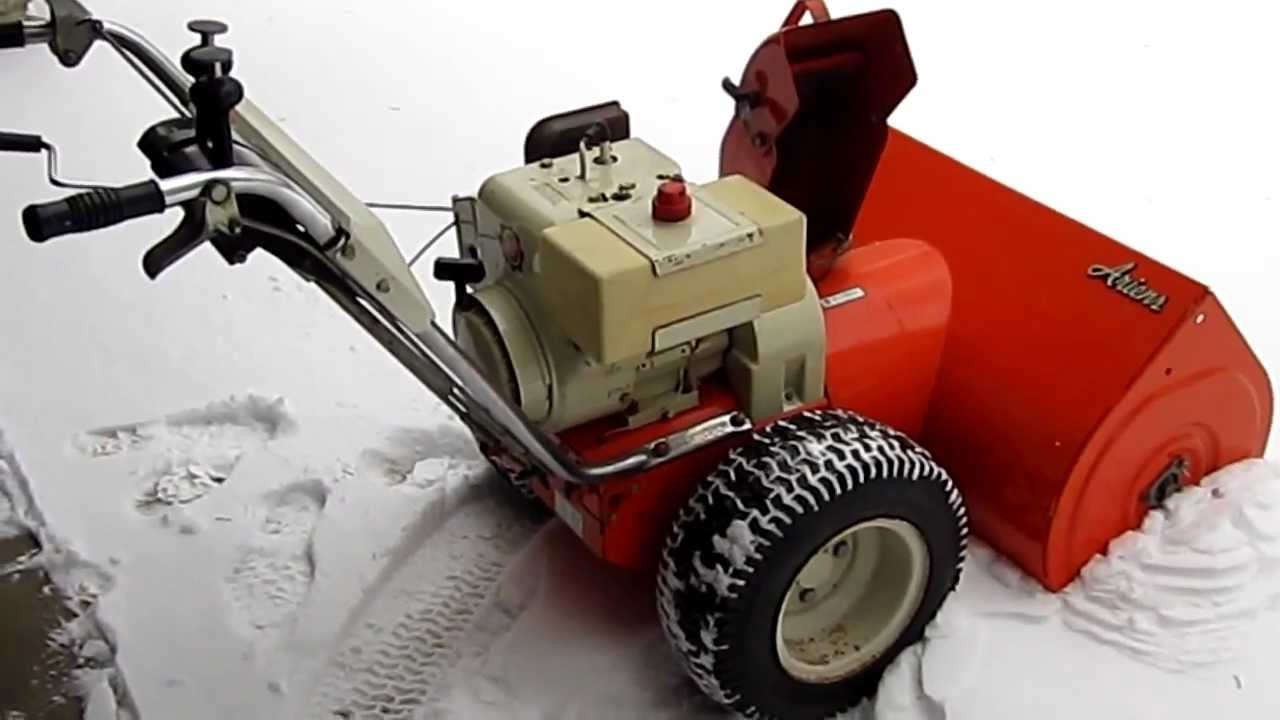 Ariens 832 Snow Blower with Impeller Kit