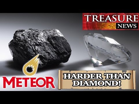 Mineral Harder Than Diamond Found In Meteorite!