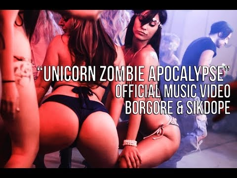 """Unicorn Zombie Apocalypse"" - Borgore & Sikdope (Official Music Video)"