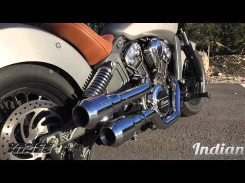 Vance & Hines Hi Output Genade Exhaust 2015 Indian Scout