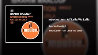 Introduction - Alf Leila Wa Leila