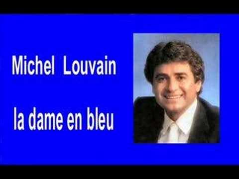 Michel Louvain   ;   La dame en bleu
