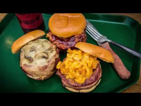 Grilled Beer Can Burger Recipe | Traeger Wood Fired Grills ...