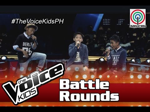 """The Voice Kids Philippines Battle Rounds 2016: """"Pusong Ligaw"""" by Yohance, John & JC"""