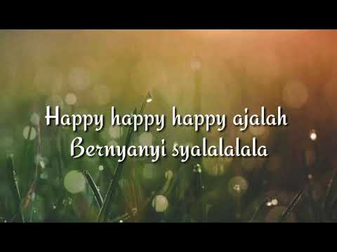 DJ Qhelfin Happy Ajalah ft Gafar Lirik