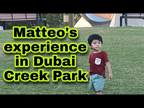 Continuation in Dubai Creek Park