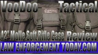 "Voodoo Tactical 42"" Molle Two Rifle Case Review By Law Enforcement Today.com"
