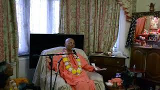 HH Bhakti Rasamrita Swami Maharaj - Moulding One's Lifestyle to get Closer to Krishna | 19-07-2018