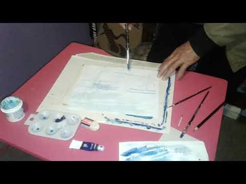 Taller de Pintura Profesor Luis Contreras