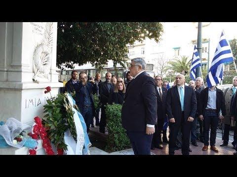 Η Χρυσή Αυγή στο Μνημείο των Ιμίων τίμησε τους τρεις πεσόντες Ήρωες