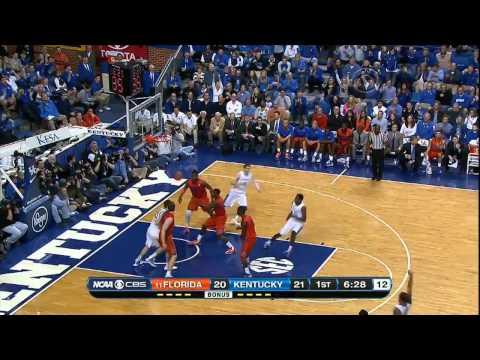 03/09/2013 Florida vs Kentucky Men's Basketball Highlights