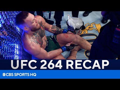 Conor McGregor Loses to Dusin Poirier Via TKO (Doctor Stoppage)   UFC 262 Recap   CBS Sports HQ