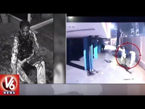 Exclusive Visuals Of Retired Navy Officer Ikram Attack | Hyderabad | V6 News