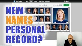 Memorized 20 Names in 60 Seconds - New Personal Record? | Luis Angel Memory Speed Training