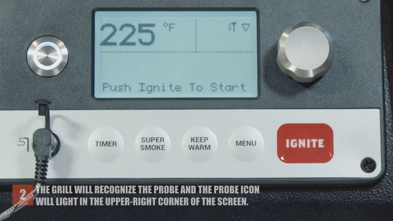 WiFIRE® Controller: Cooking with a Probe | Traeger Grills