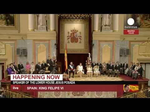 Ceremonias de proclamación de Felipe VI como rey de España - 2ª parte
