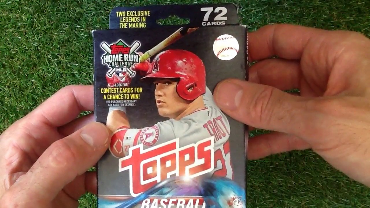 Topps Baseball Mlb 2018 Series One Hanger Pack In Search Of Autograph And Relic Cards