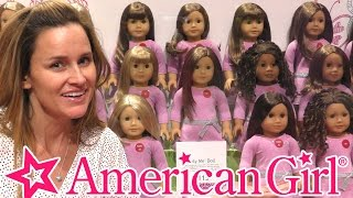 American Girl Doll Store Full Walk Through - The History of Mattel's American Girl Dolls by DCTC
