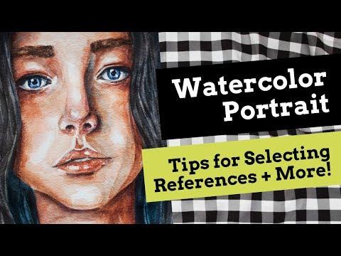 Watercolor Portrait Tips