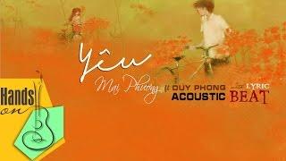 YÊU » Mai Phương ft Duy Phong ✎ acoustic Beat by Trịnh Gia Hưng