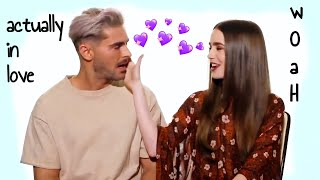 lily collins and zac efron falling in love for 7 mins 48 seconds straight