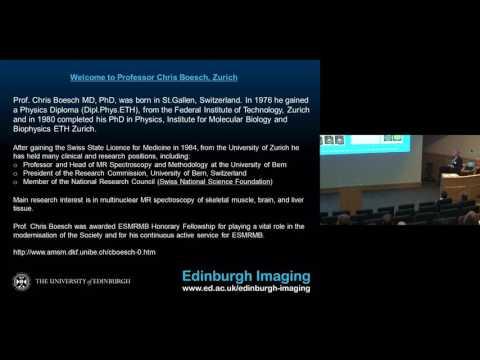 Edinburgh Imaging Symposium -  Welcome & Morning Session