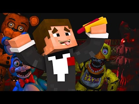 Five Nights At Freddy's в Майнкрафт: МАКДОНАЛЬДС!