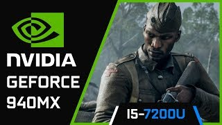 Battlefield 1 | Nvidia Geforce 940MX | i5 7200U