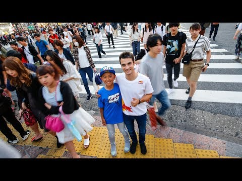 The Little Samurai and his biggest fan: Meet-up in Tokyo