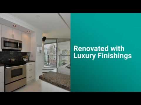 2 Bed Condo For Sale - 1205 1010 Burnaby Street   West End Vancouver BC 480p