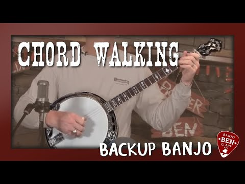 Basic Banjo Backup- Chord Walking
