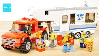 レゴ シティ キャンプバンとピックアップトラック 60182 / LEGO City Great Vehicles Pickup & Caravan 60182