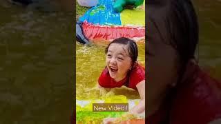 Bug Slip and Slide into Jello Pool !!!