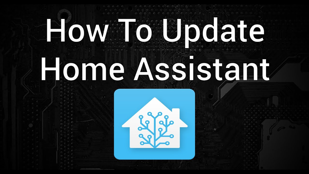 How To Update Home Assistant