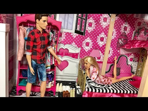 Barbie Doll and Ken Morning Routine!!