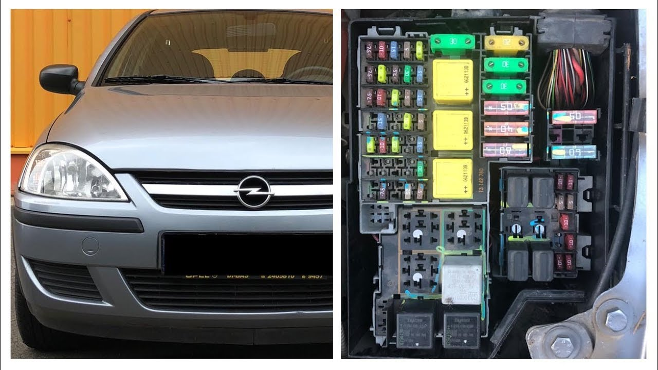 Opel Corsa Utility Fuse Box Diagram | Wiring Diagram Echo on