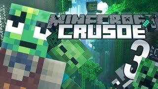 [3] MineCraft: Crusoe Survival - PRZYGODY CZAS ZACZĄĆ! - Żółwi Kapitan Jaś