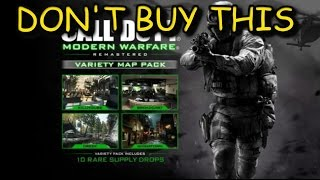 Don't Buy the Variety Map Pack for Modern Warfare Remastered
