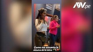 Thamara Gomez cautiva a sus fans con sensual baile de la selva